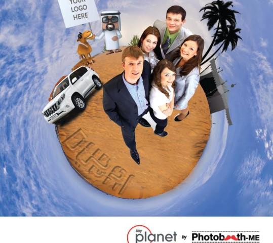 Tiny Planet Photobooth